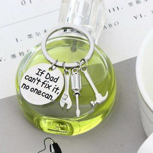 """DAD Hand Tools Keyring """" If Dad Can't Fix …"""